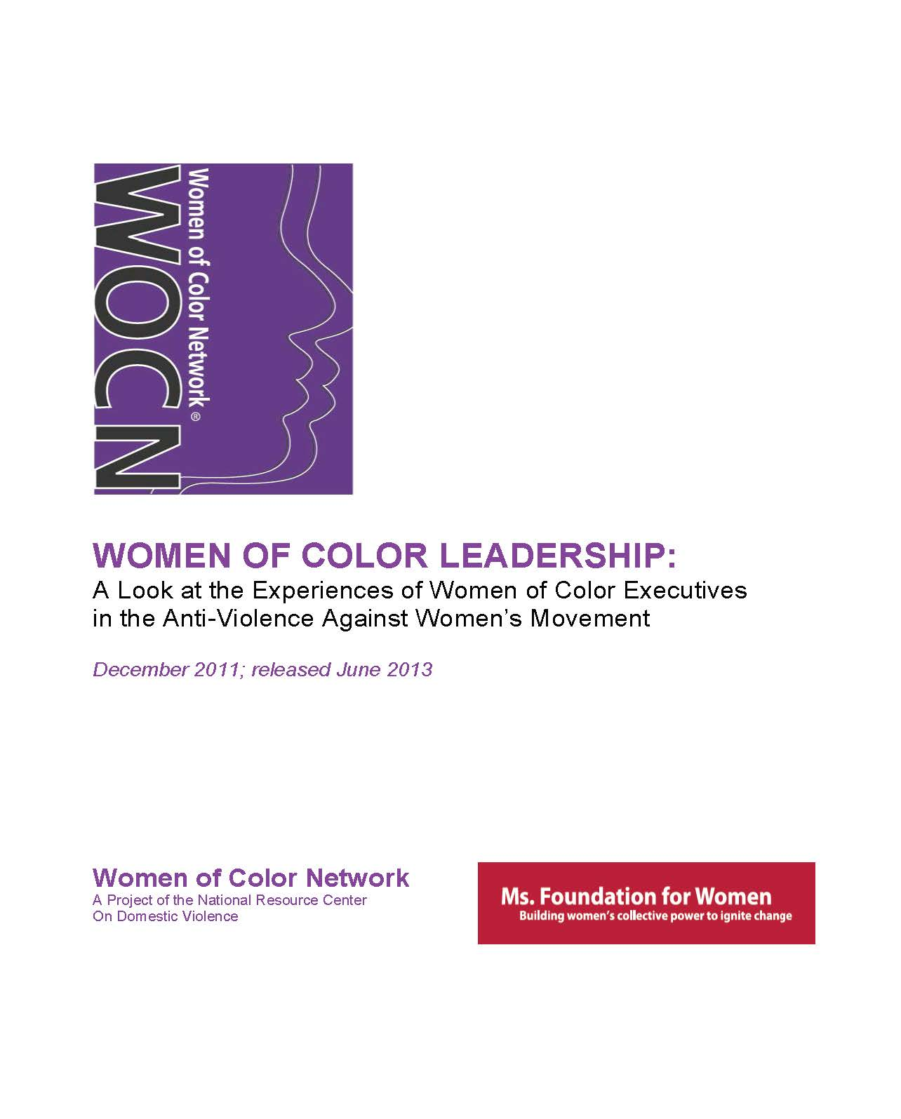 Women of Color Leadership